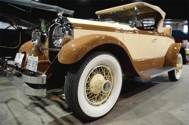 A Chrysler Imperial Roadster figures in the '20s novel Winner's Loss.